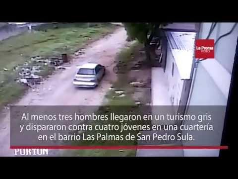 Asesinato en cuarteria de San Pedro Sula