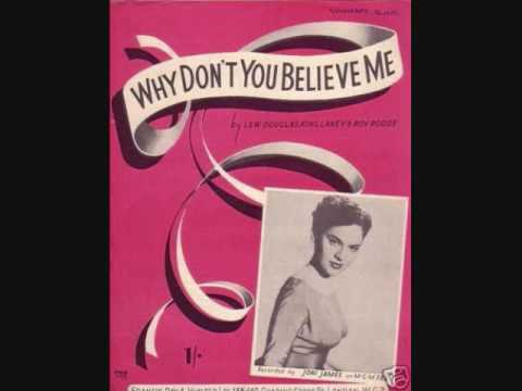Joni James - Why Don't You Believe Me