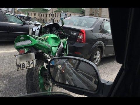 ДТП с мотоциклистом в Белгороде на улице Хмельницкого
