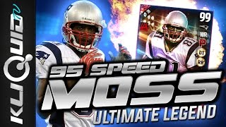 Why I'm NOT MAD ABOUT 95 SPEED on ULTIMATE LEGEND RANDY MOSS  Madden 17 Ultimate Team BE SURE TO GIVE THIS VIDEO A