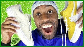 2 of Tyler The Creator's Sneakers | CONVERSE GOLF LE FLEUR SUEDE LOW TOP | Review + On Feet Looks