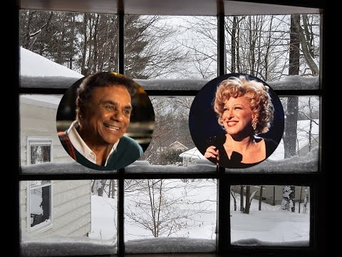 Johnny Mathis and Bette Midler  -  Winter Wonderland  Let It Snow