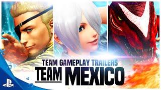 ORALE!!! ASÍ SE PRESENTA EL TEAM MÉXICO EN THE KING OF FIGHTERS XIV