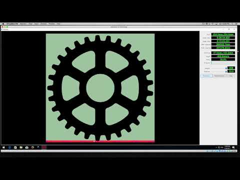 RDworks Tutorial 2 Bitmap Tracing for PL1220 CNC Laser Cutters