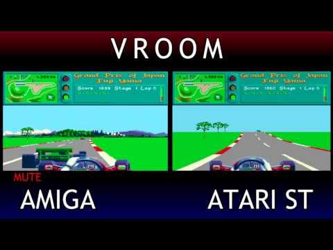 Vroom Atari