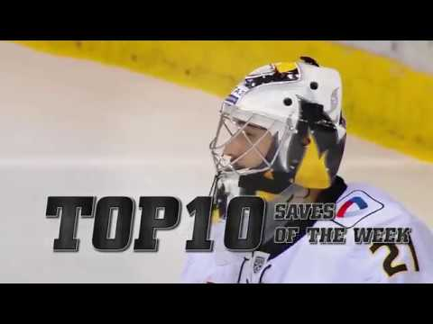 KHL Top 10 Saves for Week 23 (видео)