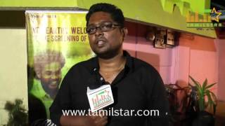 Vasanth at Narai Ezhuthum Suyasarithiram Short Film Screening