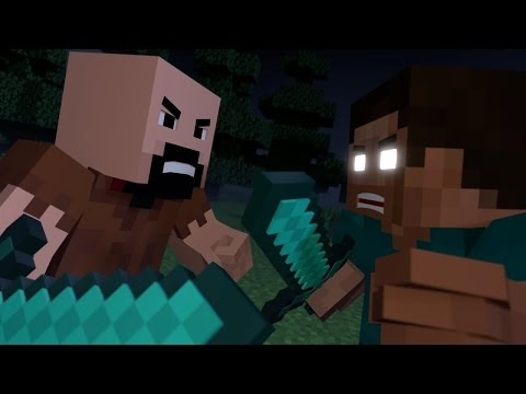 Notch Vs Herobrine Monster amv