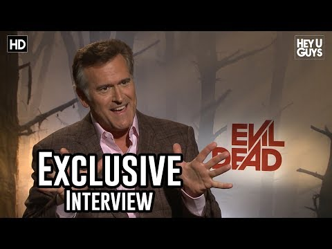 bruce_campbell - Ezequiel Gutierrez from HeyUGuys interviews Producing Bruce Campbell for his movie Evil Dead. Bruce played 'Ash' in the original movie 'The Evil Dead' back i...