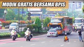 Video MUDIK GRATIS 2018: PELEPASAN 49 Unit Bus Mudik Gratis Bersama BPJS MP3, 3GP, MP4, WEBM, AVI, FLV Agustus 2018