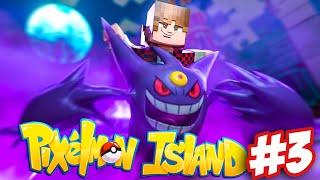 Minecraft Pixelmon Island UHC #3 - I FOUND A MEGA GENGAR