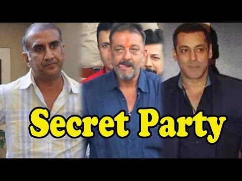 Salman Khan To Throw A Party For Sanjay Dutt At Pa