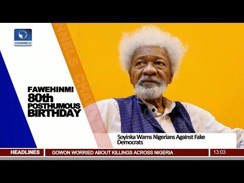 Beware Of Fake Democrats, Soyinka Warns Nigerians