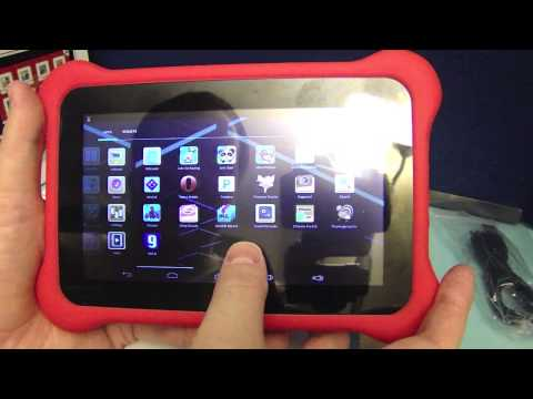 Apad® 7-inch Dual-Core, Dual Camera Kids Tablet