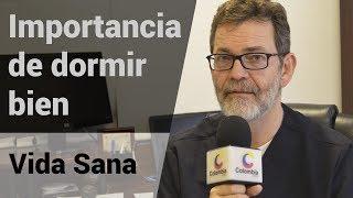 Hoy nos acompaña Santiago Rojas, quien nos hablará de la importancia de dormir