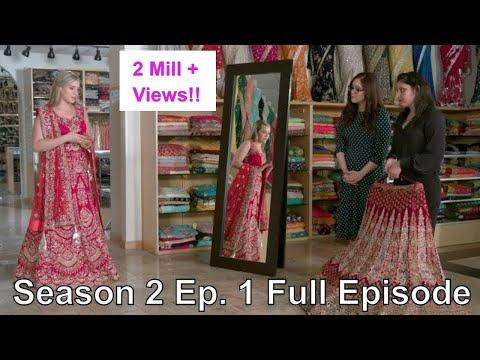 Non Indian bride facing Lehenga challenges, Nazranaa Diaries Season 2 Episode 1 Full Episode - Jamie