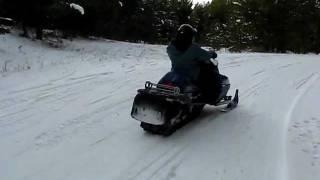 9. Yamaha Mountain Max 700 triple filmed by Yamaha RX-1 turbo