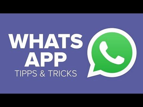 15 WhatsApp Tipps und Tricks, die Ihr garantiert noch ...