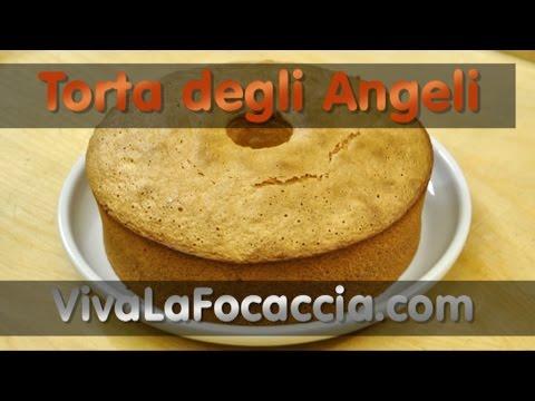 video ricetta: la torta degli angeli (angel cake)