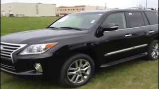 2013 Lexus LX 570 Review 4WD SUV