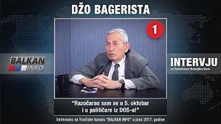 """Gost emisije """"Intervju"""" bio je gospodin Ljubiša Đokić, poznatiji kao Džo Bagerista, jedan od simbola petooktobarskih promena."""