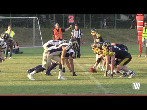 Football: Wiesbaden Phantoms vs. Nürnberg Rams 42 : 2 ...