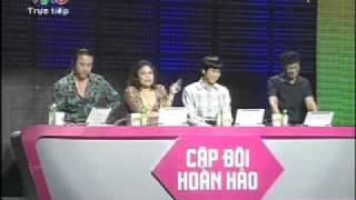 Cap doi hoan hao 2011 - Dam Vinh Hung & Kim Thu (clip 3) - Chung ket cap doi hoan hao tuan 8 chu nha