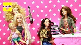 Video Barbie Kuafor Salonunda - Evcilik TV Evcilik Oyunları MP3, 3GP, MP4, WEBM, AVI, FLV Desember 2017