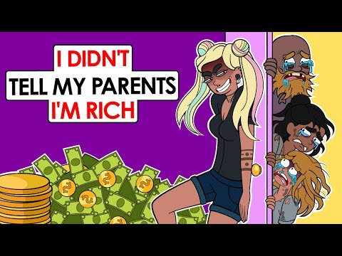 I Became A Millionaire And Hid It From My Poor Family | This is my story