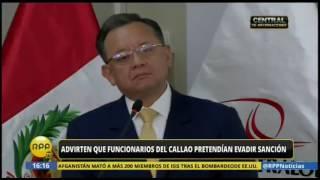Exfuncionarios del Gobierno Regional del Callao pretenden evadir sanción de la Contraloría con habeas corpus de Juzgado de Paz de Piura