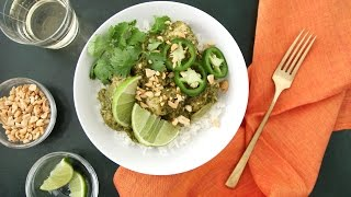 Slowcooker Cilantro Chutney Chicken- Everyday Food with Sarah Carey by Everyday Food