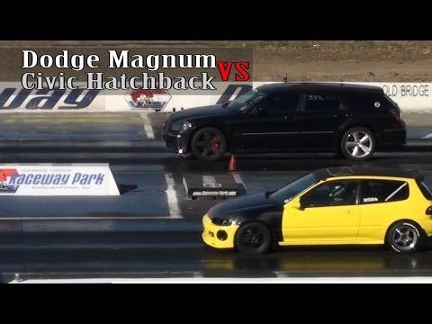 Honda Civic vs. Dodge Magnum