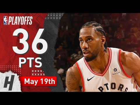 Kawhi Leonard Full Game 3 Highlights Raptors Vs Bucks 2019 NBA Playoffs - 36 Pts, 5 Ast, 9 Reb!