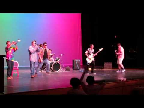 Papa Bear's Big Red Chair  Panther Creek's Got Talent 2014