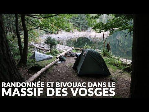 Randonnée et bivouac de deux jours dans le massif des Vosges