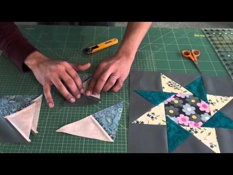 patchwork – blocco stella con ottagono
