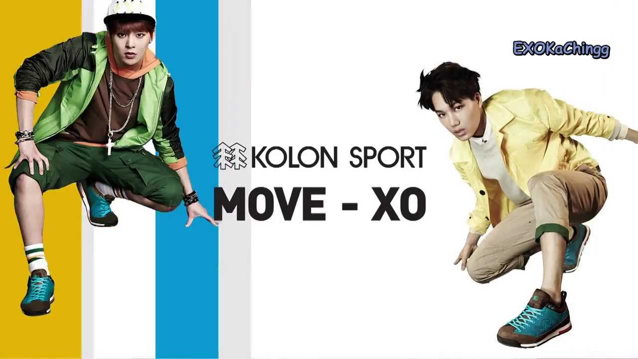 [engsub] EXO Kolon Sport Move-XO CF – Dance Tutorial