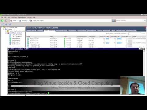 ¿Cómo configurar SNMP en VMware ESXi para reportar alarmas en Nagios?