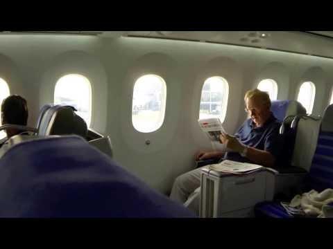 Lot Polish Business Class 787 to Warsaw Poland