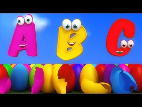 Bai hat Video nhạc thiếu nhi tiếng Anh ABC song, học tập tiếng Anh