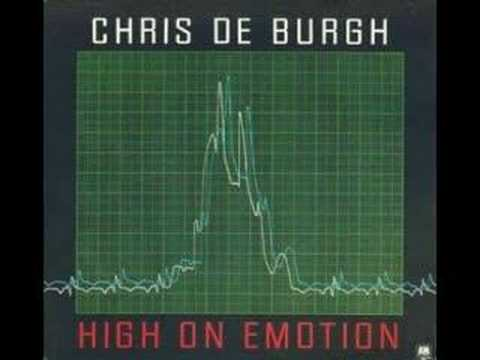 Tekst piosenki Chris De Burgh - High On Emotion po polsku