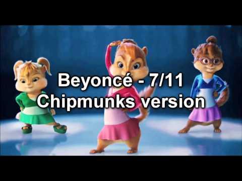 Beyoncé - 7/11 - Chipmunks version (SerbianNewsTV)