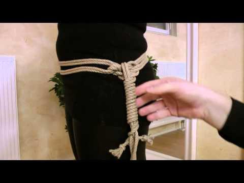 Fesselzeit: Teil 2 - Gunslinger Harness (видео)