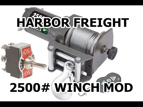 How To :: Badlands 2500# Wireless Winch MOUNTED SWITCH MOD