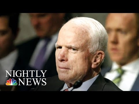 GOP Health Care Bill Delayed After Sen. John McCain's Surgery | NBC Nightly News