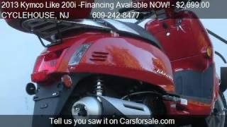 6. 2013 Kymco Like 200i -Financing Available NOW!  - for sale i