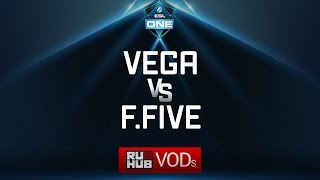 Vega Squadron vs Fantastic Five, ESL One Genting Quals, game 1 [Mila]