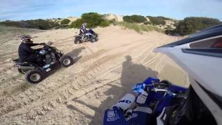 Kingston South East Australia  city pictures gallery : Kingston S.E sand dunes Yamaha Banshee