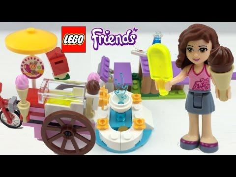 """Конструктор LEGO Friends41030 """"Велосипед с мороженным Оливии"""""""