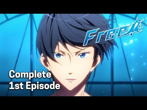Free! - Iwatobi Swim Club Ep. 1 Dub | Reunion at the Starting Block!